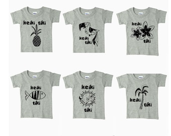 Tiki Toddler Shirts