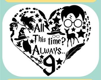 Harry Potter Svg Hogwarts Svg Svg Files Png Svg Jpg Eps Etsy