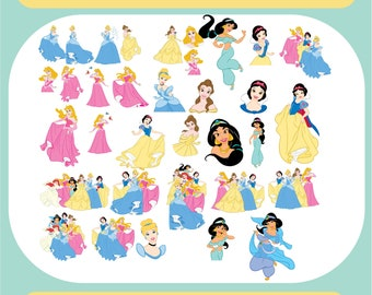 Princess Svg Etsy