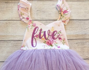 Birthday Dress 6th Birthday Dress 6 Year Old Birthday GIrl Dress Six and Fabulous Fringe Dress Boho Dress Beach Cover Up