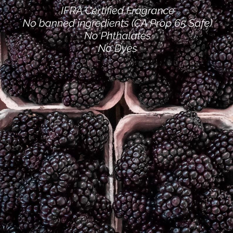 Black Raspberry Soy Jar Candle 10oz