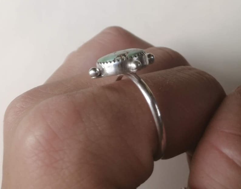 Treasure Mountain Turquoise Sterling Silver Ring