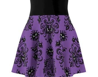 Haunted Mansion Skirt, Disney Skirt, Disney Halloween Skirt