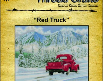 Antique Ford Truck ~ DIY Counted Cross Stitch Pattern