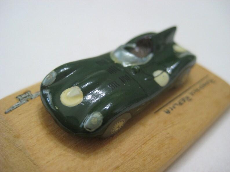 Roadace Replica Dark Green Jag Type D 1956 Plaster 1:100 Great Britain
