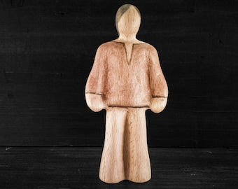 Wooden Toy Lad - Light - Wooden Toy Man