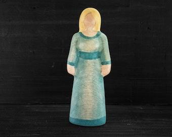 Wooden Toy Maiden - Blond - Wooden Toy Woman