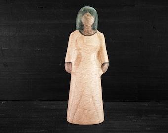 Wooden Toy Maiden - Dark Skinned - Wooden Toy Woman