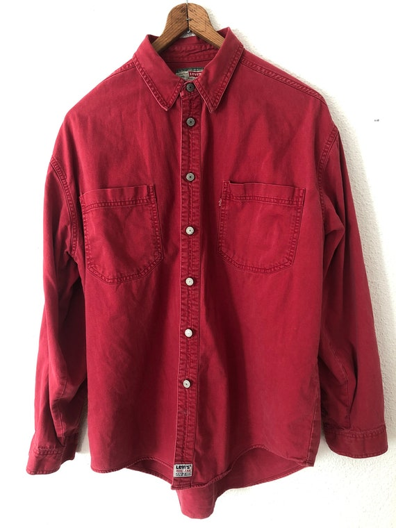 Vintage Levi's denim shirt.