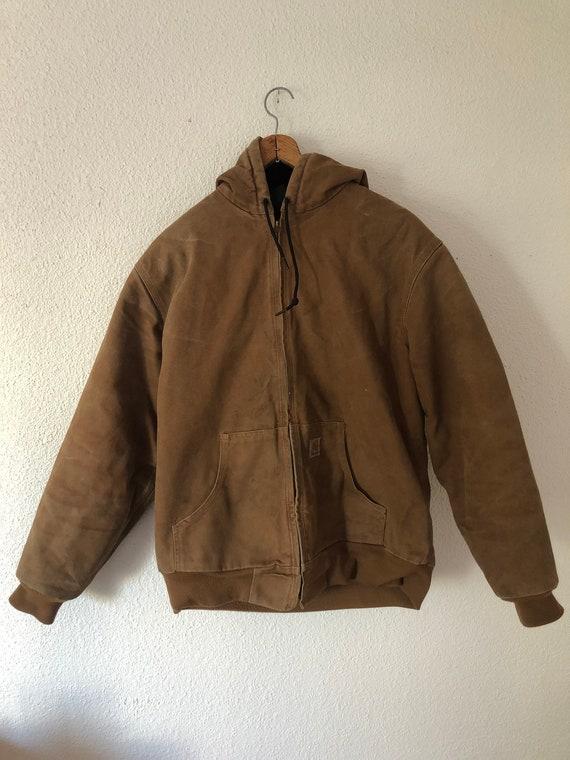 2007 Carhartt canvas bomber jacket