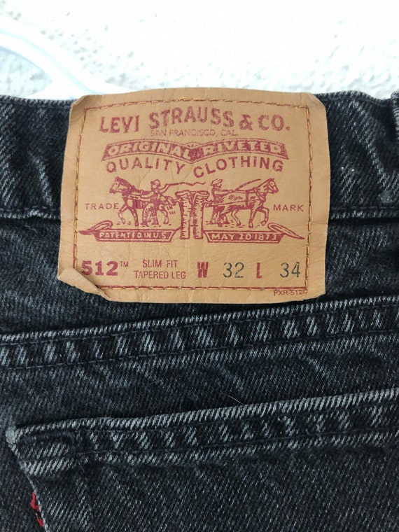 Vintage 1990's Levi's 512 made in Canada - image 6