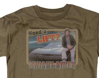 kenner model 1982 KNIGHT RIDER T-shirt Michael Knight KITT David Hasselhoff
