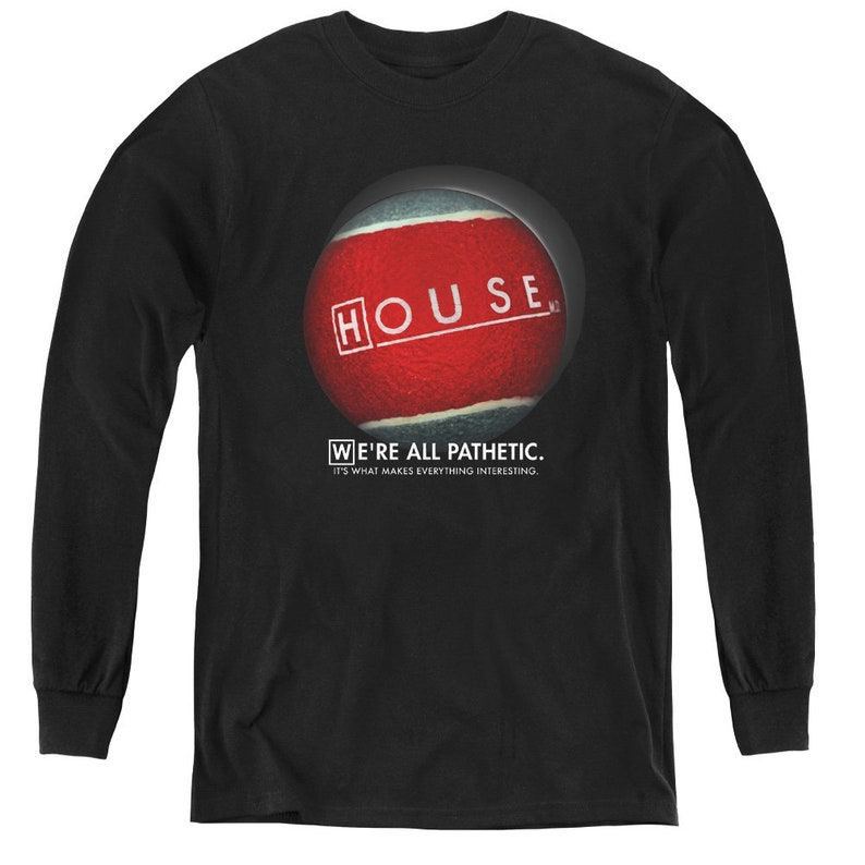 House We/'re All Pathetic Kid/'s Black Shirts