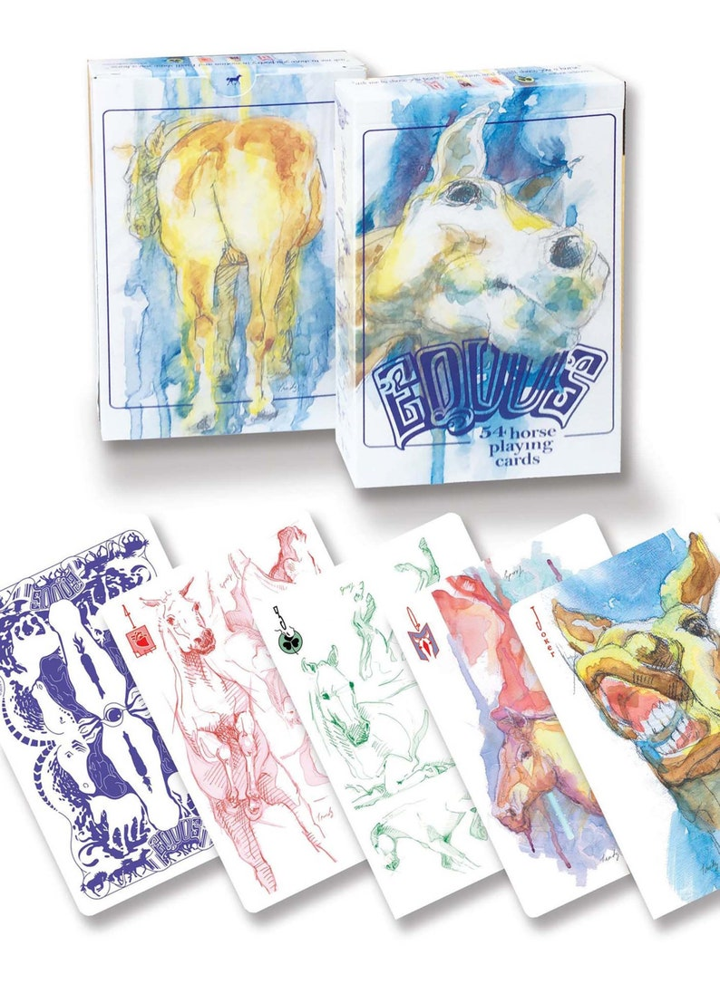 Equine Premium Playing Cards image 0