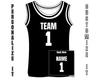 infant basketball jerseys personalized