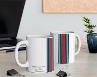 Coffee Tea Chocolate Mug Gulf Racing Livery Imsa FIA Motorsports Enthusiast