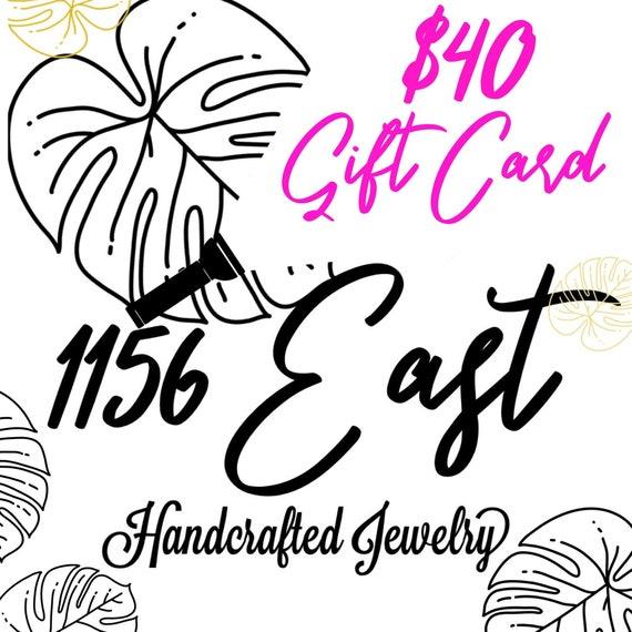 Gift Card 40 dollars