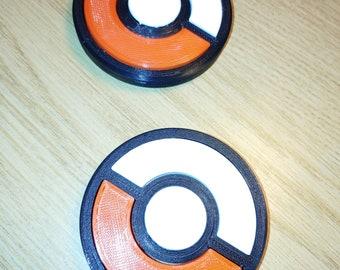 POKEMON GO POKEBALL Fidget Finger Hand Spinner Focus Ultimate Spin Toy EDC UK
