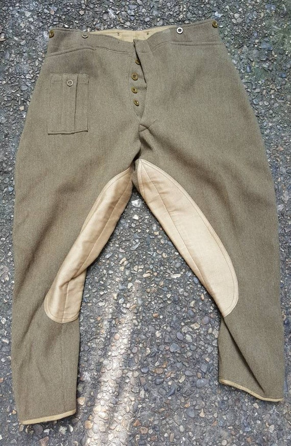 Vintage 1950s military foresters jodhpurs breeches