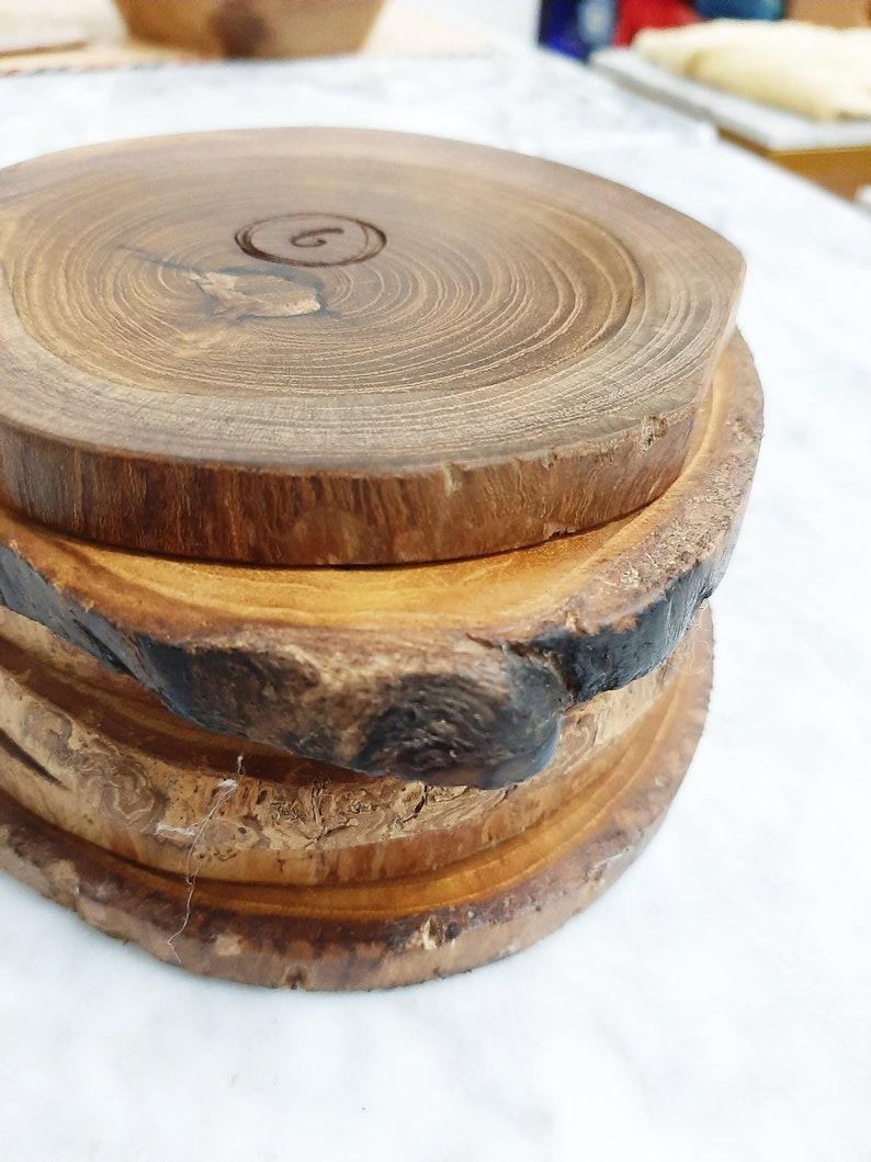 Keping Wood Coaster