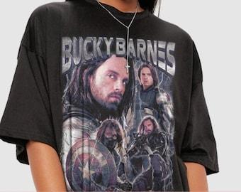 Bucky Barnes Shirt, The Falcon And Winter Soldier Homage T-Shirt , Bucky Barnes Winter Soldier tee , Sebastian Stan T Shirt