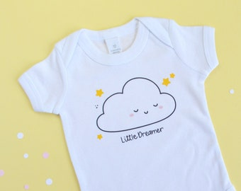 Custom Body with Illustration and Name for Babies - Unisex Baby Tunic - New Born Gift Ideas - Early Childhood - Mood Confetti