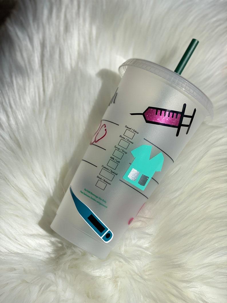 DoctorNurse Personalized Starbucks Cup