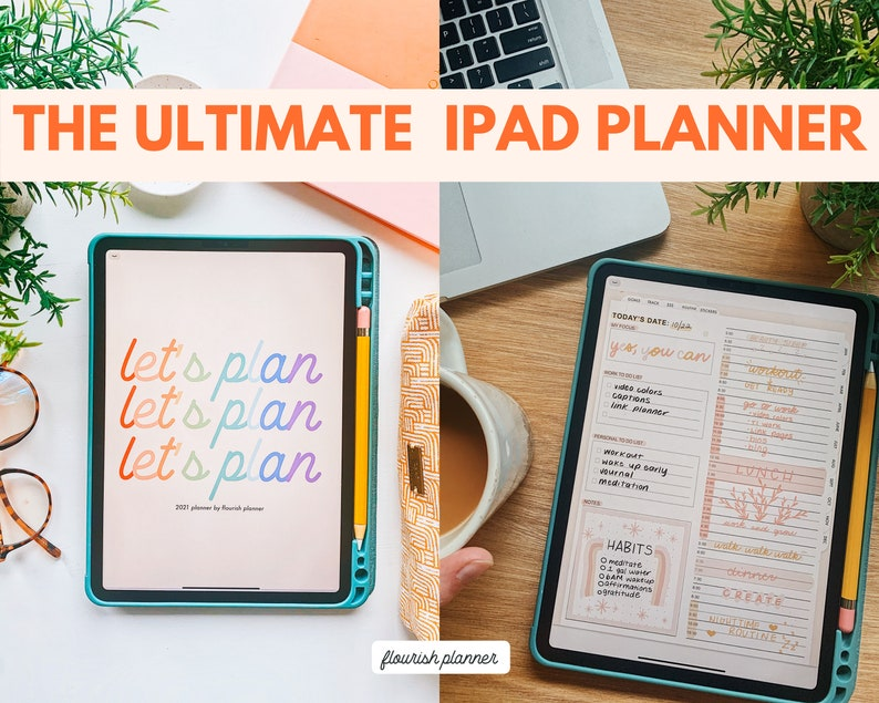 Yearly Planner Undated by Flourish Planner  Planners for image 0