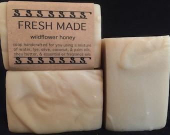 Wildflower Honey Bar Soap