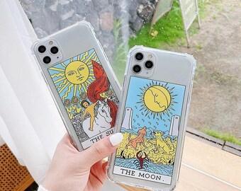 Tarot Phone Case, Iphone 6 7 8 11 XR Tarot card cover for iphone