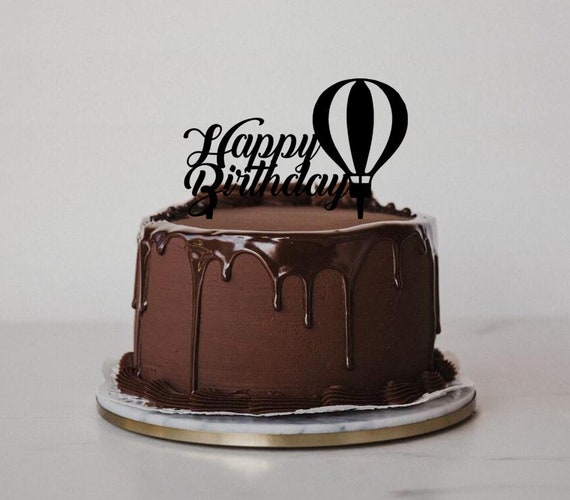 Happy Birthday Parrot Acrylic Cake topper Birthday cake Topper.606