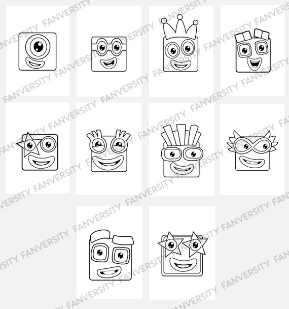Coloring Page playing with building blocks - free printable ... | 609x570