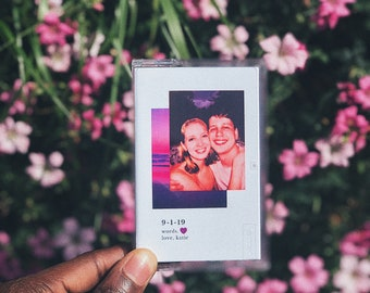 PKs Personalised Audio Cassette Mixtape with Custom Artwork