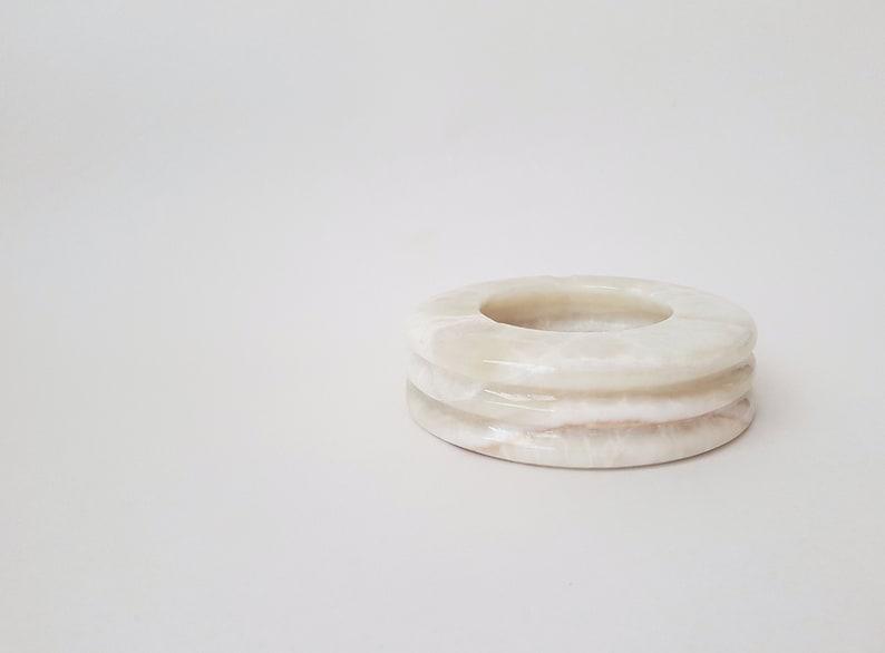 White Onyx Stone Ashtray