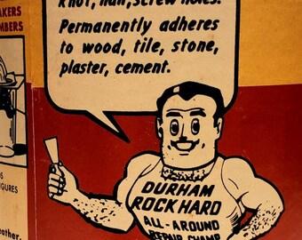 """Pride of Virginia Herring Roe /""""Original Vintage Can Label/"""" Mundy Point Virginia"""