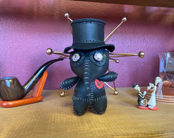 BACKORDER-Miniature-Plague Doctor-Voodoo Doll