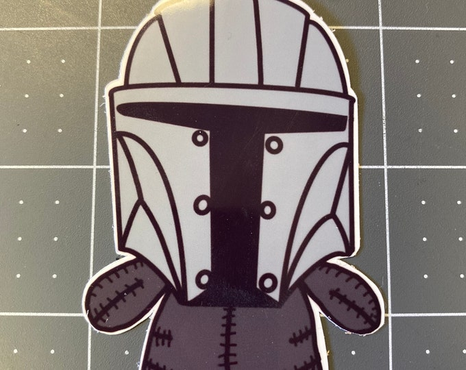 Mando-Sticker