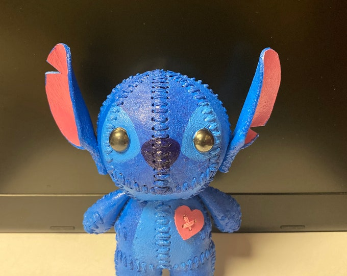 BACKORDER-Miniature- Stitch-Voodoo Doll