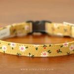 Daisy Cat Collar – Yellow