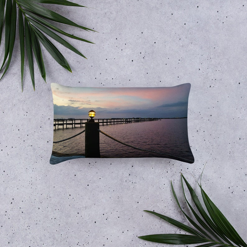 Matlacha FL Views Pillow image 0