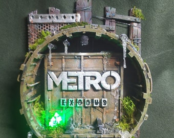 """3D picture """"METRO: Exodus"""" (pre-order, made within 5 days) 