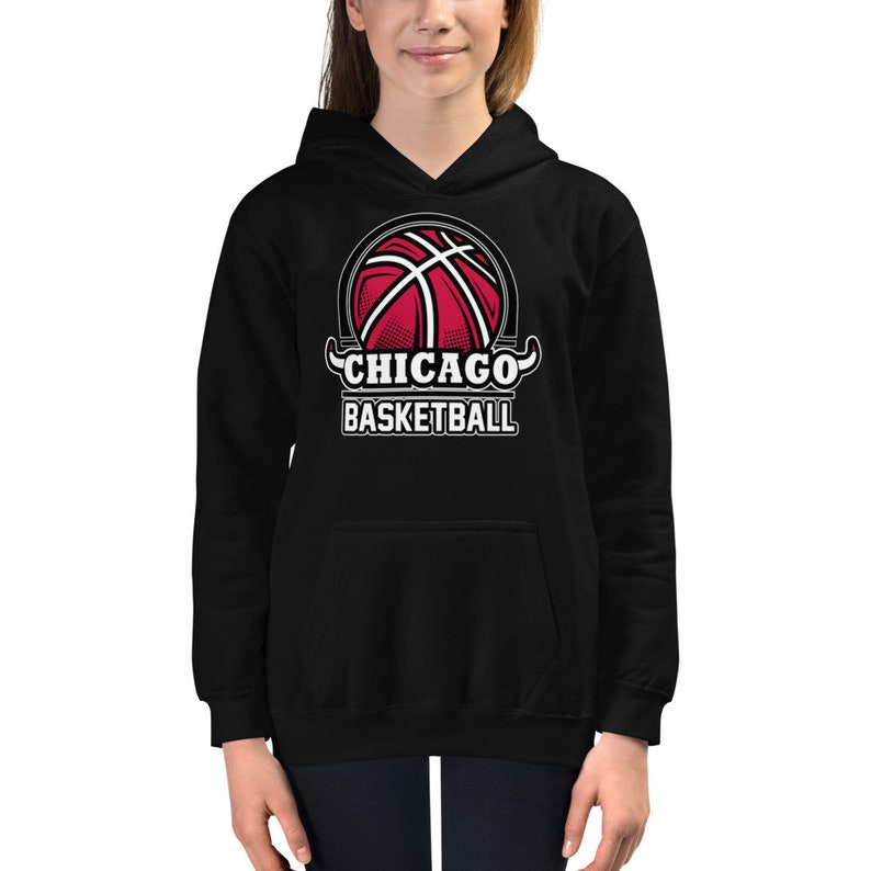 Chicago Bulls Basketball Kids Hoodie