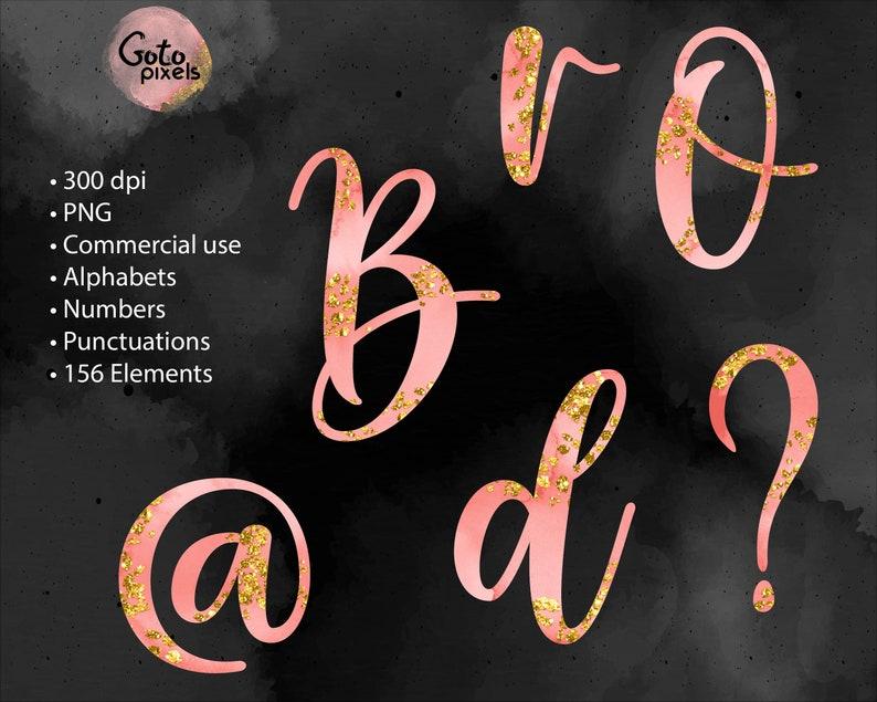 Watercolor font 64 Watercolor letters clipart Watercolor font clipart Blue alphabet Pink watercolor alphabet clipart Decorative letters