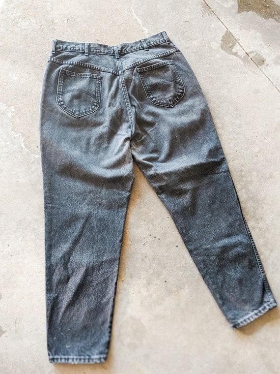 Black Mom Jeans: 90s Vintage