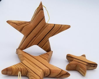 """Star Christmas Ornaments 