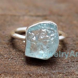 Chakra Opening Crystal Healing Carbon Fiber Aquamarine Thin Ring Purple Virgo  Birthstone Nonconductive And Hypoallergenic