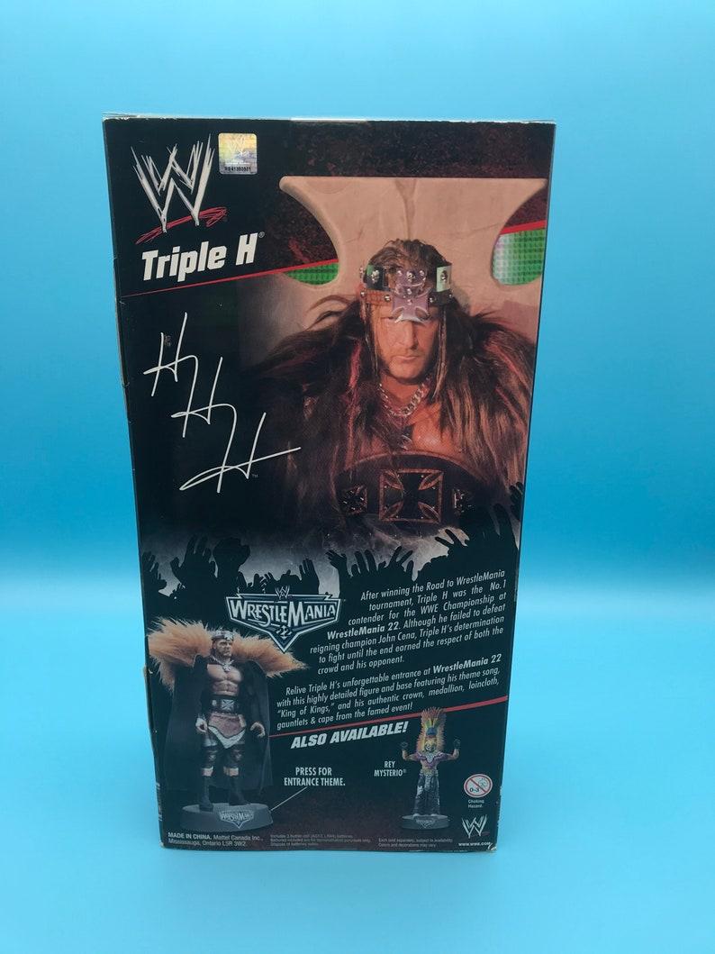 WM 22 Triple H Entrance Greats