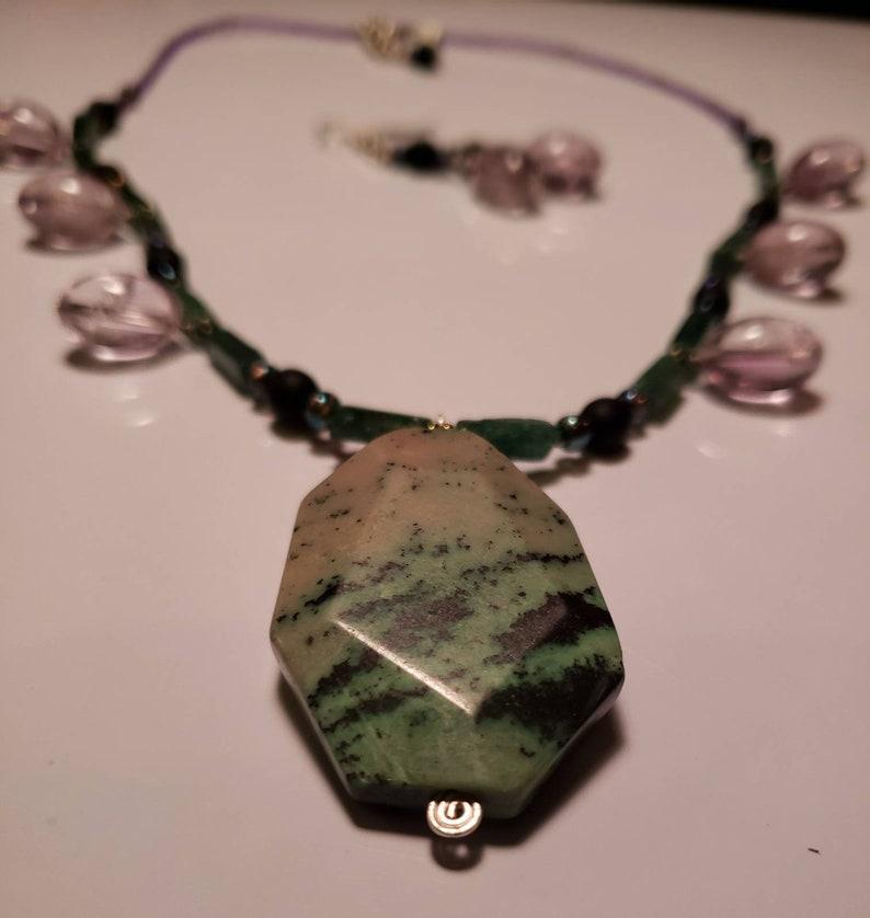 jasper Emerald green adventuren Amethyst