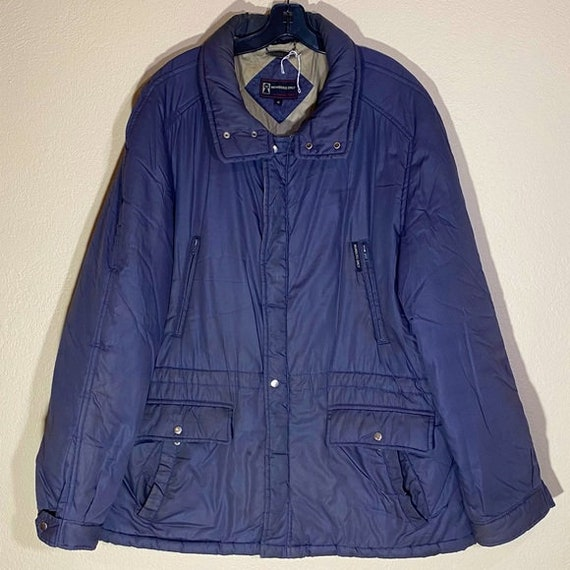 Vintage Members Only Jacket Utility Coat Insulated
