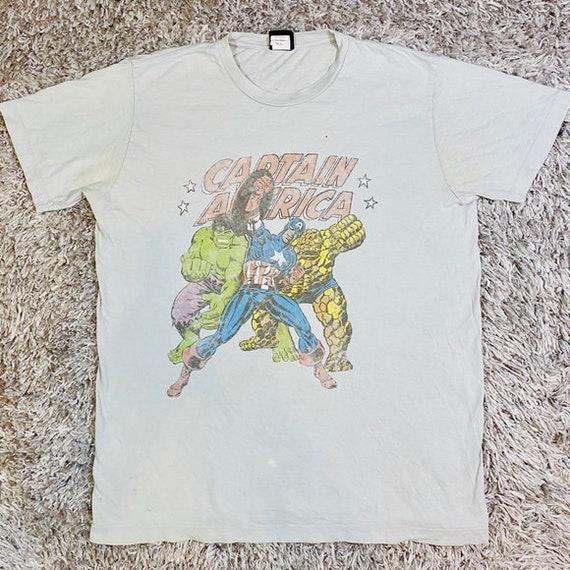 Vintage Marvel Comics T Shirt Graphic Tee Hulk